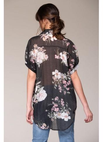 Blusa Estampación Flores