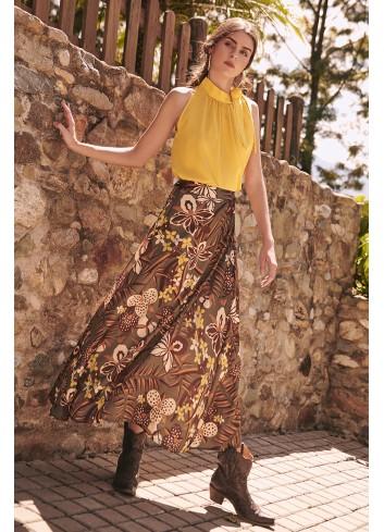Falda estampado vintageFalda estampado vintage