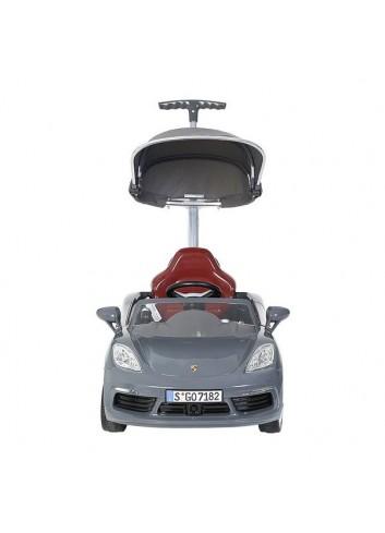 Carro Montable Push Car Porsche Deluxe Gris