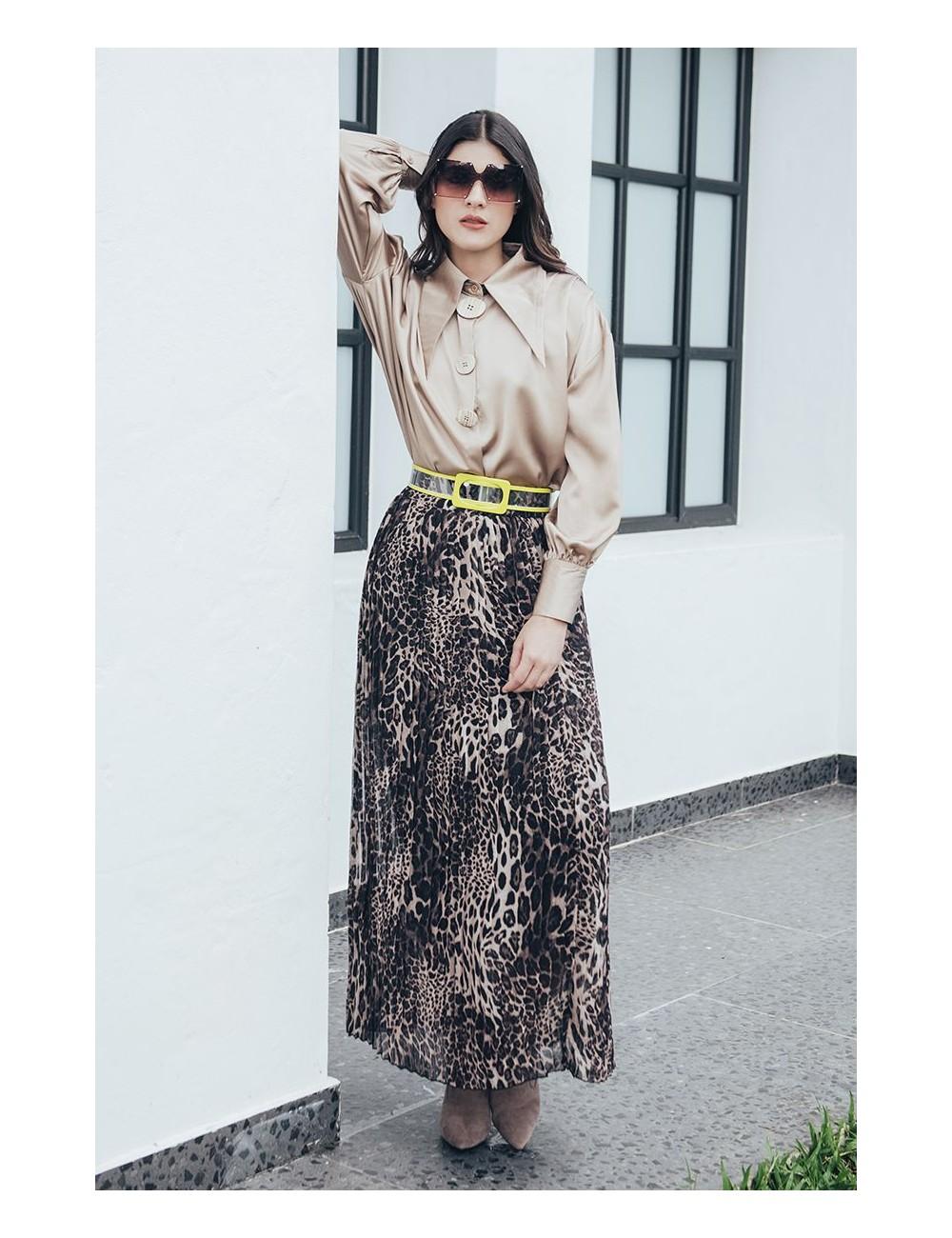 Falda Estampado animal print