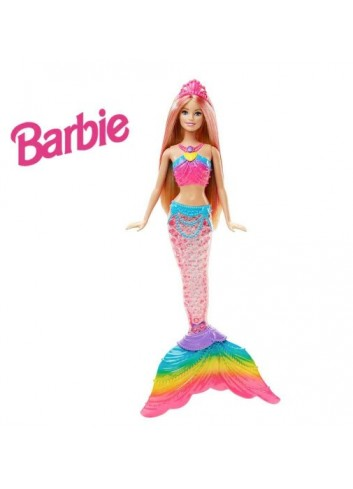 Barbie Reino de Arcoíris Sirena Arcoíris Brillante