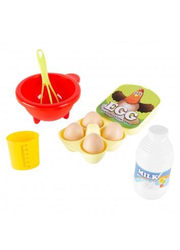 Set De Wafflera Hey! Play! De Juguete Para Niños